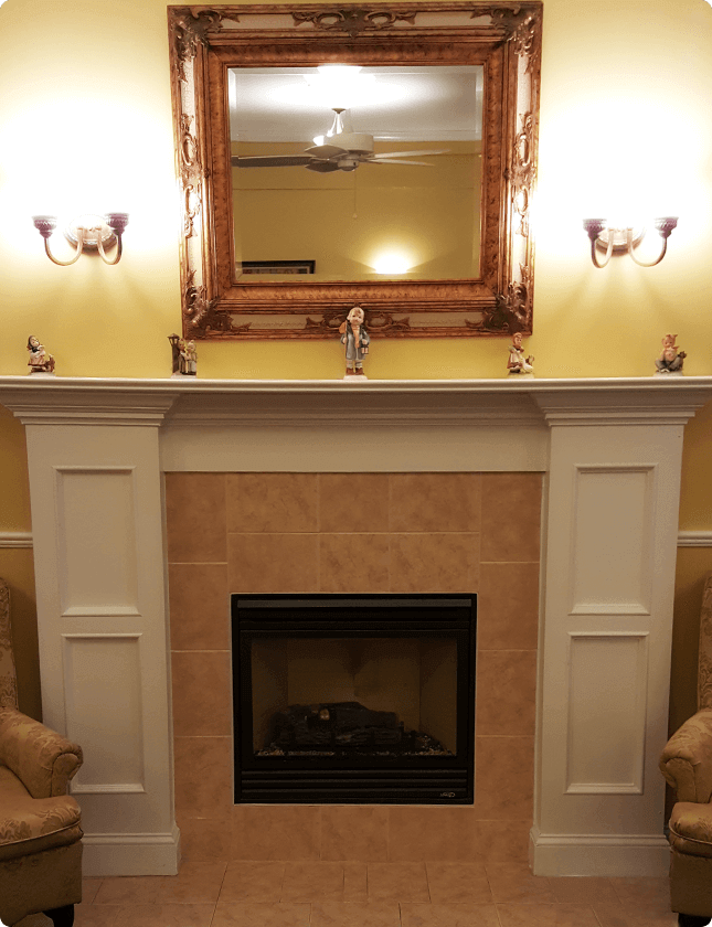 Taylor-and-Reynolds-Funeral-Home-Fireplace